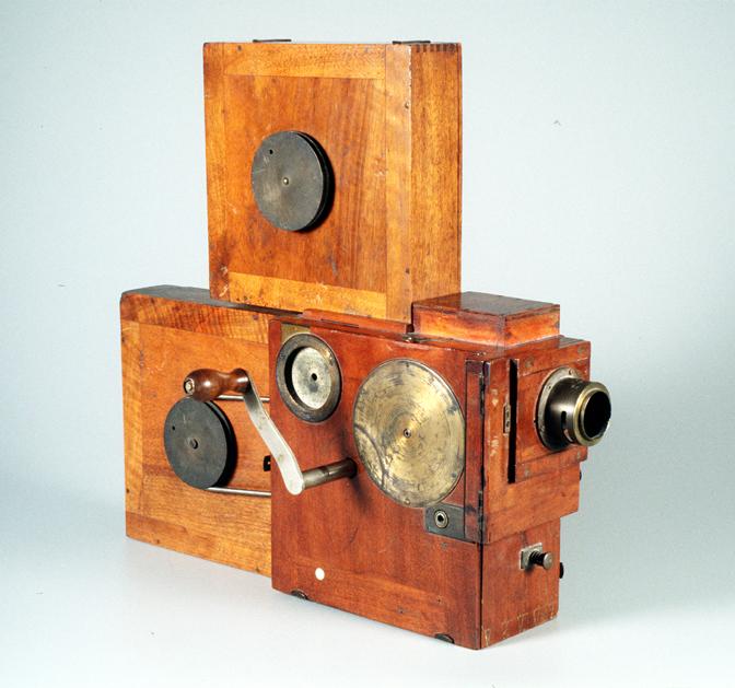 Prestwich cine camera model 4 1898